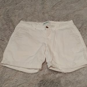 Old Navy white denim shorts